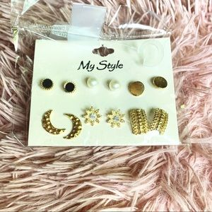 My Style Earring Set Studs Super Cute!